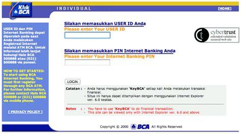 klikbca individual klikbca driverlayer search engine