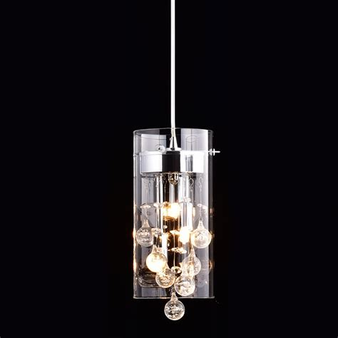 glass chandelier modern claxy ecopower lighting glass pendant lighting