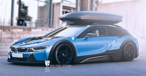 How Much Is The Bmw I8 by Rendering Bmw I8 Shooting Brake