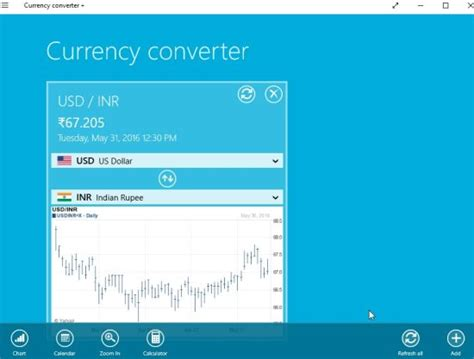 currency converter view exchange rate with windows 10 currency converter app
