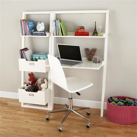 children white desk sloane leaning desk white modern desks