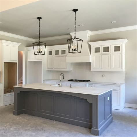 how is a kitchen island 25 best ideas about grey kitchen island on