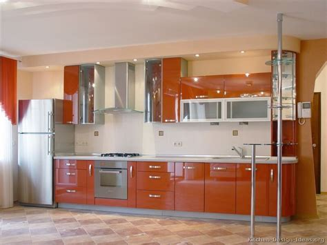 orange kitchen cabinet 20 gorgeous kitchen cabinet design ideas