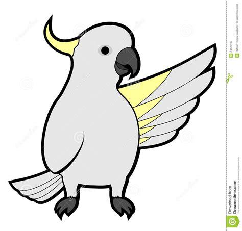 cockatoo hello royalty free stock photography image