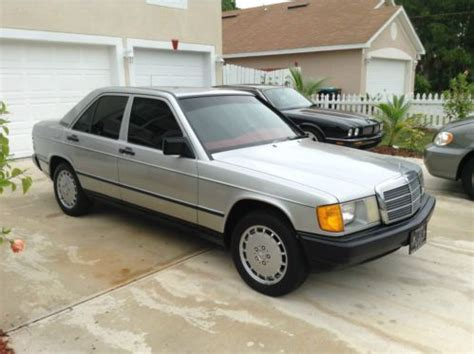 auto air conditioning service 1985 mercedes benz w201 user handbook sell used 1985 mercedes benz 190e in palm bay florida united states