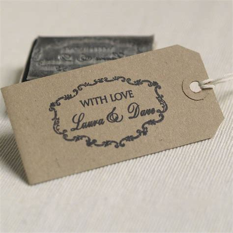 rubber st wedding personalised wedding favours rubber st by beautiful day