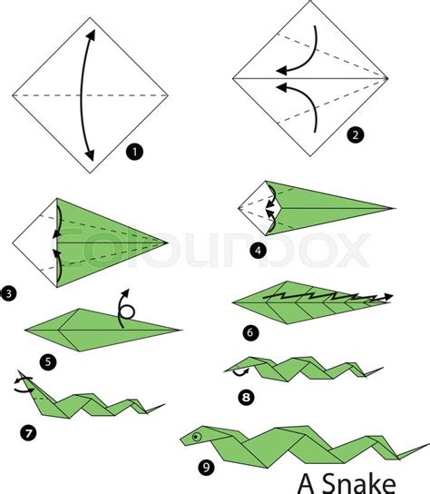 step by step how to make origami step by step how to make origami snake
