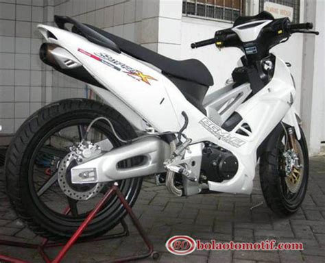 Modif Supra X 125 Tahun 2013 by Herdiansyah 10 Gambar Modifikasi Extriem Motor Honda