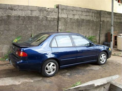 toyota corolla 2001 s model for sale price reduced 1