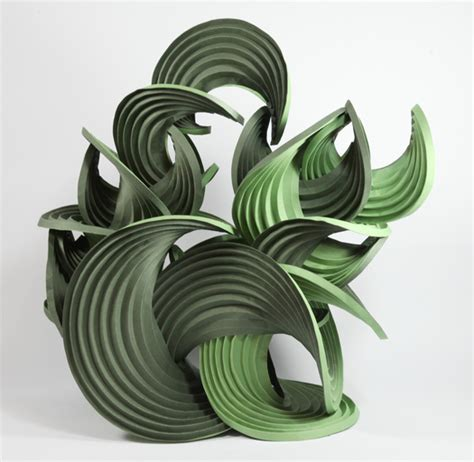 erik demaine origami fuller craft series 2011 curved crease sculpture by