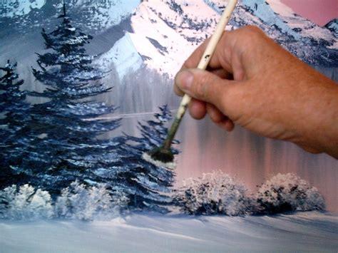 bob ross painting trees happy trees and bob ross