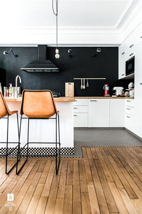 Flooring Plan 4 ways and 26 examples to ease the floor transition digsdigs