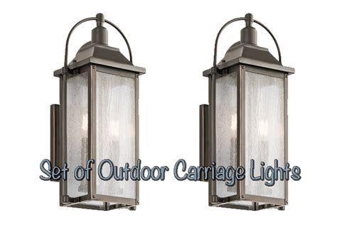 outdoor carriage lights kichler carriage light giveaway checking in with chelsea