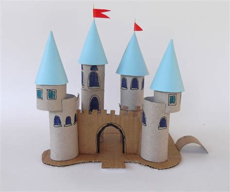 castle crafts for craftsboom gr ένα κάστρο για πριγκίπισσες
