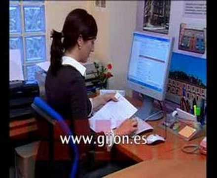 oficina virtual ayuntamiento de gijon oficina virtual 24 horas al d 237 a de servicio p 250 blico youtube