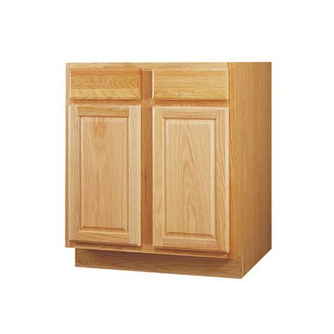 kitchen sink base cabinet shop kitchen classics 34 5 in h x 36 in w x 24 in d oak