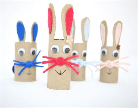 crafts for cardboard bunny craft family crafts