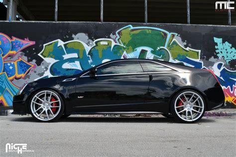 2014 Cadillac Cts V 0 60 by Cadillac Cts V Custom Wheels Niche Targa M131 22x9 0 Et