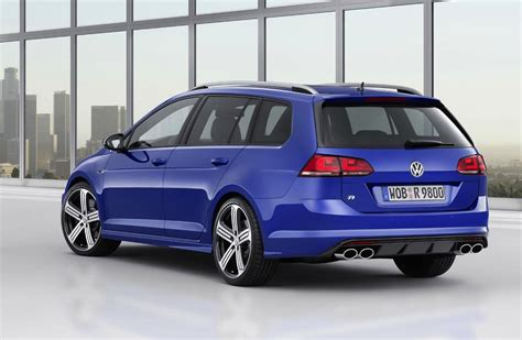 volkswagen golf r variant wagon revealed performancedrive