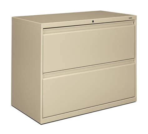 hon 2 drawer file cabinet hon brigade 800 series 36 inch 2 drawer lateral file cabinet