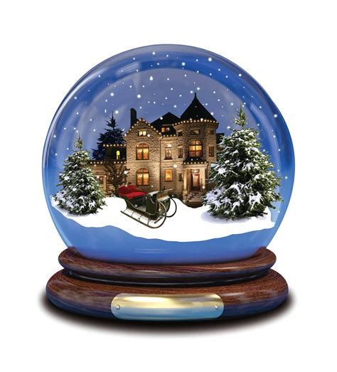 What Would You Do If You Were Stuck Inside A Snow Globe
