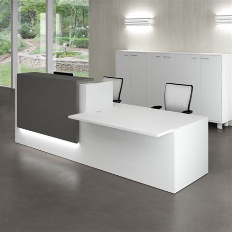 modern contemporary office desk reception desks contemporary and modern office furniture