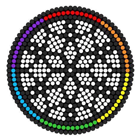 circle perler bead patterns circle catcher perler bead pattern bead sprites