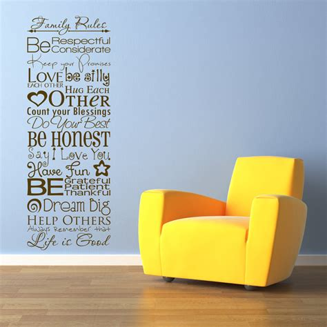 sticker sayings for walls family quote sayings wall decals stickers graphics