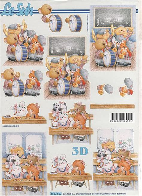 decoupage items for sale le suh 3d decoupage teddybear band virgo craftsvirgo