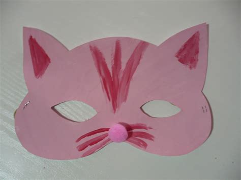 mask crafts for cat and bat masks family crafts