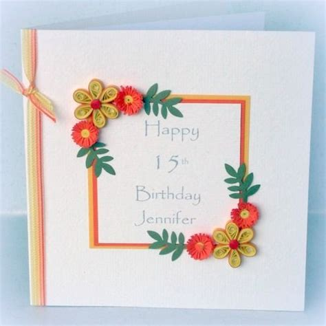 handmade craft ideas paper quilling handmade quilled birthday cards ideas origami