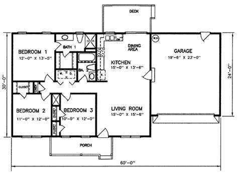 2 bedroom ranch house plans ranch style house plan 3 beds 2 baths 1200 sq ft plan 66 122 floor plan floor plan
