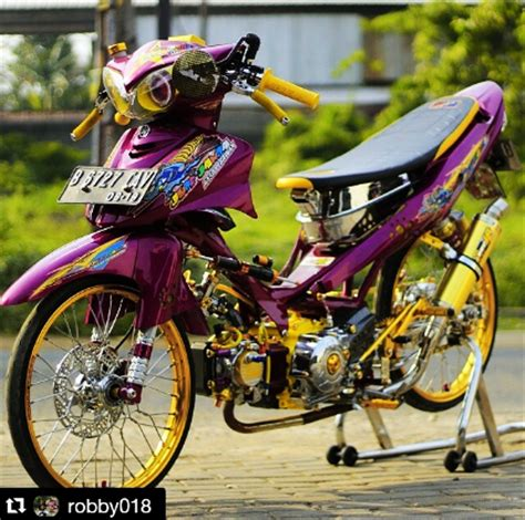 Thailook Style Modifikasi gambar modifikasi yamaha jupiter z thailook style