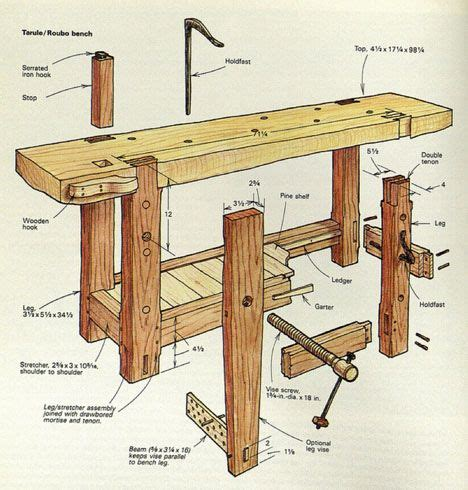 woodworking bench dimensions 25 best ideas about woodworking bench on