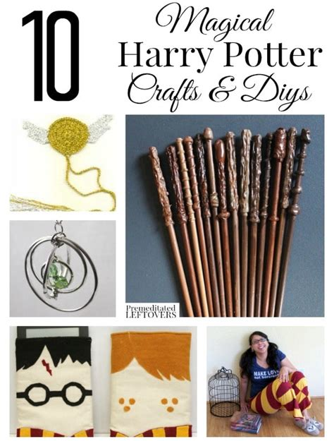 harry potter crafts for 10 magical harry potter crafts