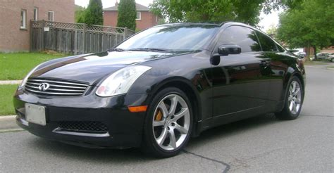 03 G35 Coupe by Fs 03 Black G35 Coupe 6mt Brembo Stock Nav Lots Of