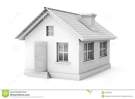 home design concept with background photo 1 real estate concept 3d house stock illustration image
