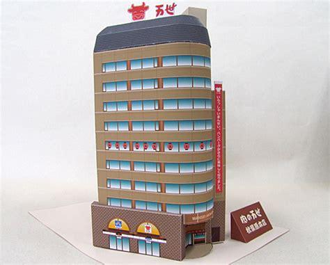 paper craft building niku no mansei papercraft building paperkraft net