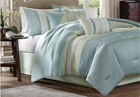 king comforter sets blue brenna blue green 7 pc king comforter set king linens blue
