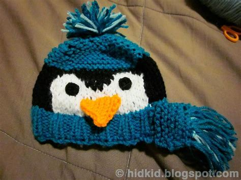 knitting pattern for penguin penguin knit hat knitting pattern by heidi arjes