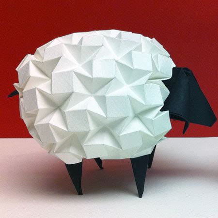 origami sheep origami beth johnson s origami design secrets