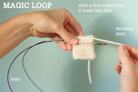 magic loop method of knitting image gallery magicloop