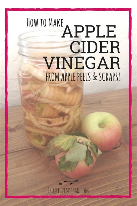 how to make apple cider vinegar how to make apple cider vinegar project zenstead
