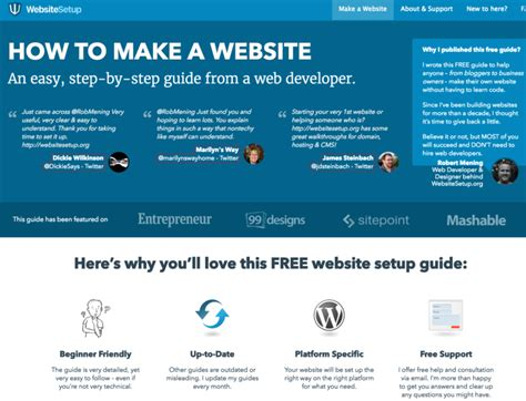 how to make a page how to make a website step by step guide for beginners