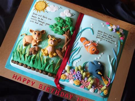 picture of a story book top book cakes cakecentral