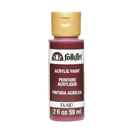 folk acrylic paint australia folkart 2 oz berry wine acrylic craft paint k434 the