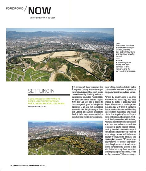 landscape architecture magazine settling in landscape architecture magazine
