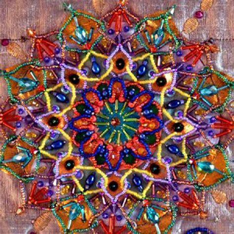 bead creative i beaded embroidery mandalas bead creative by