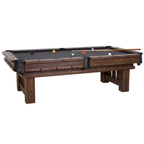 rustic pool tables cheyenne rustic barnwood pool table viking pool tables