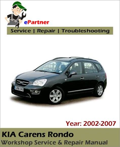 how to download repair manuals 2009 kia rondo electronic throttle control service manual 2007 kia carens service manual download kia carens 2007 workshop manual